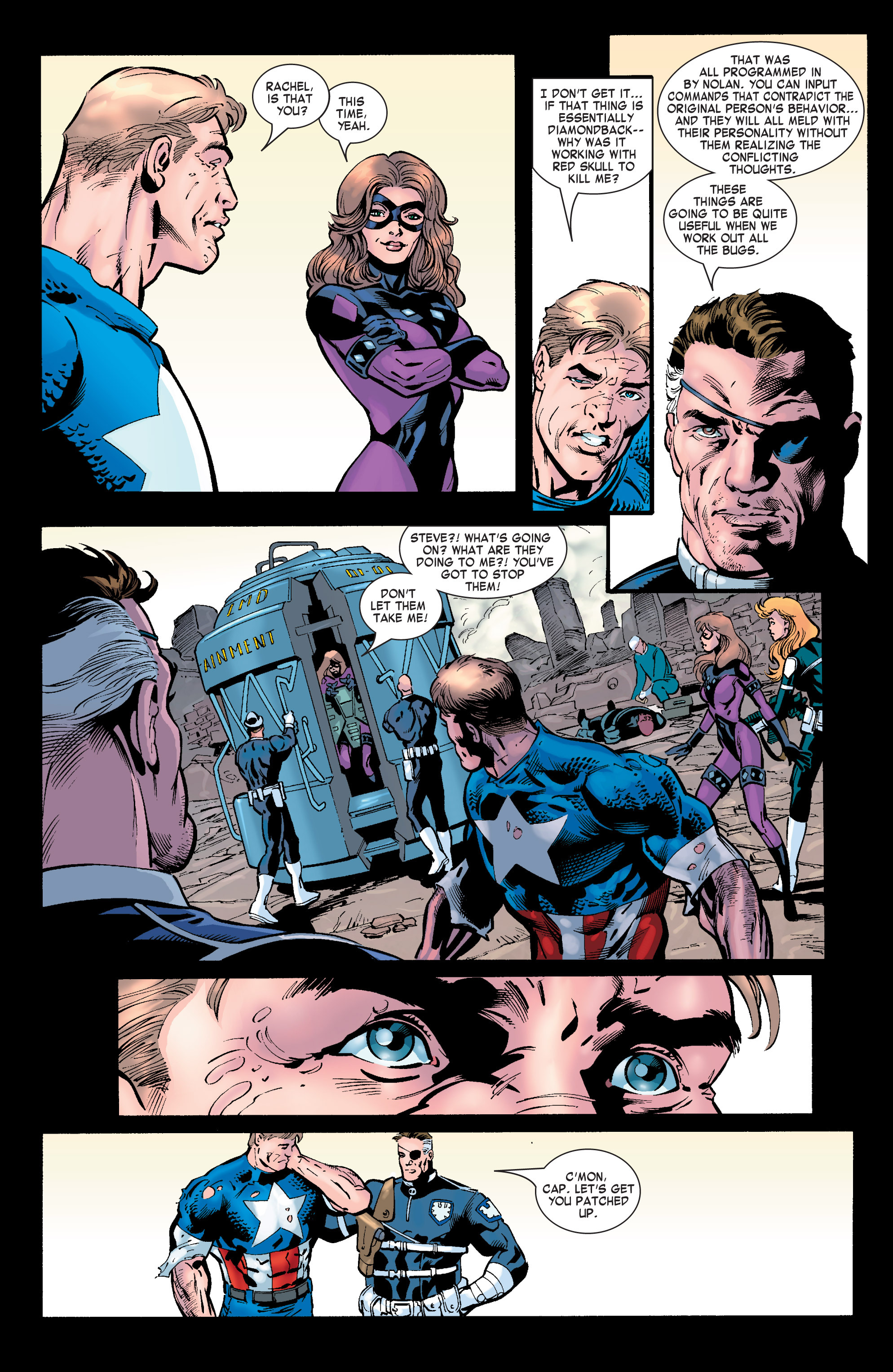 Captain America (2002) Issue #32 #33 - English 23