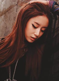 Jiyeon - Beauty in Black T-ara Pretty