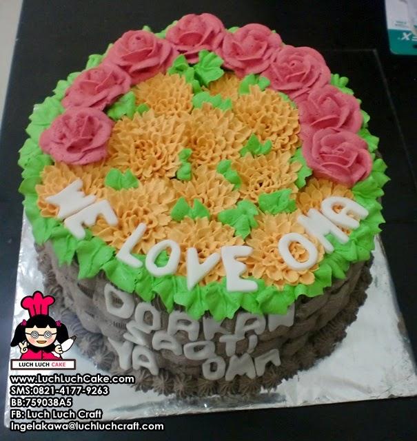Kue Tart Bunga Untuk Ibu