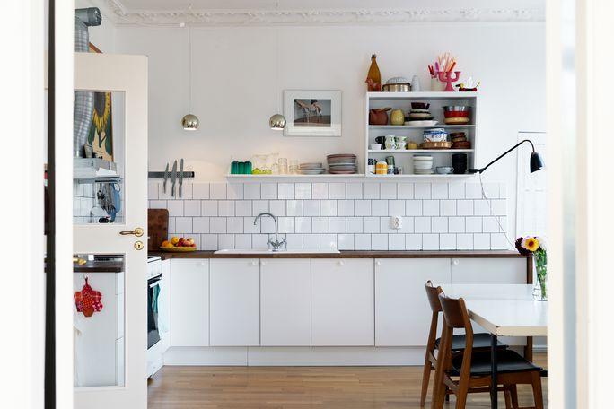 W domu Marty Kafelki kuchenne -> Kuchnia I Kafelki