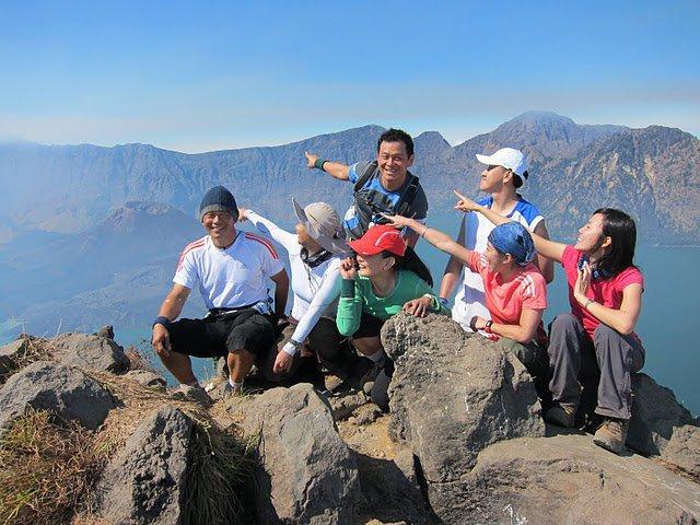 Plawangan Senaru 2,641 meters altitude