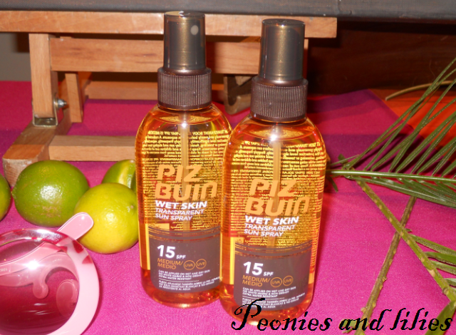 Piz Buin wet skin transparent sun spray, Piz Buin, Piz Buin wet skin transparent sun spray spf15