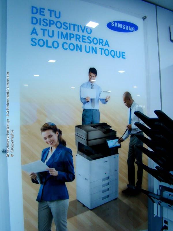 Samsung-presenta-Colombia-primeras-impresoras-tecnología-Android
