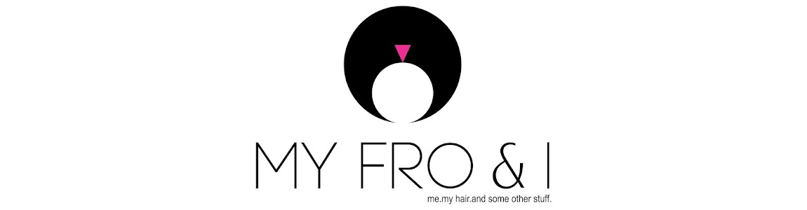 My Fro & I : A South African Natural Hair & Beauty Blog