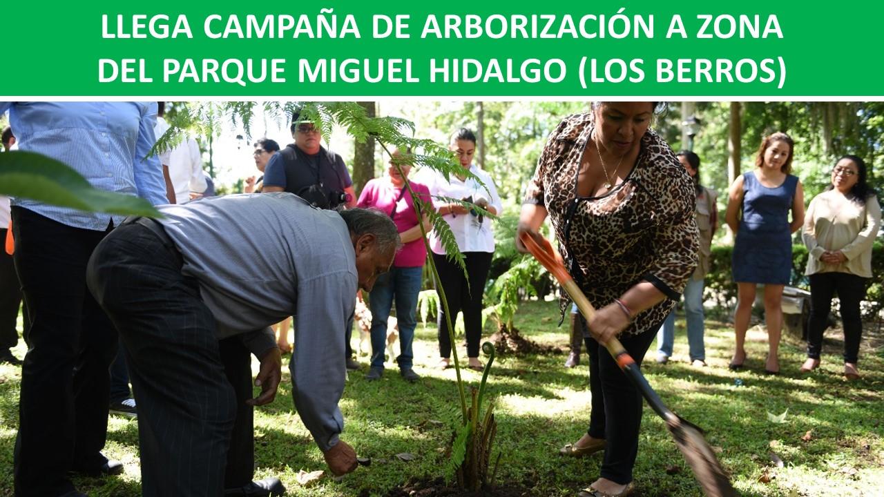 PARQUE MIGUEL HIDALGO (LOS BERROS)