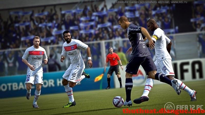 Tải FIFA 2012 full 1 link maxspeed