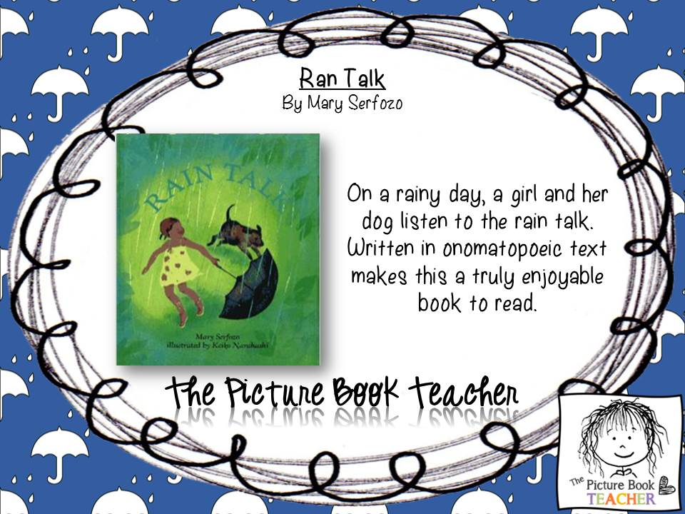 The Picture Book Teacher - April Top 10 Books - Theme: April Showers