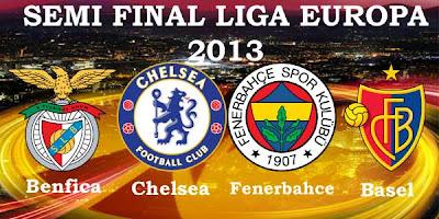 Hasil Akhir FC Basel vs Chelsea Liga Europa (Jumat, 26 April 2013)