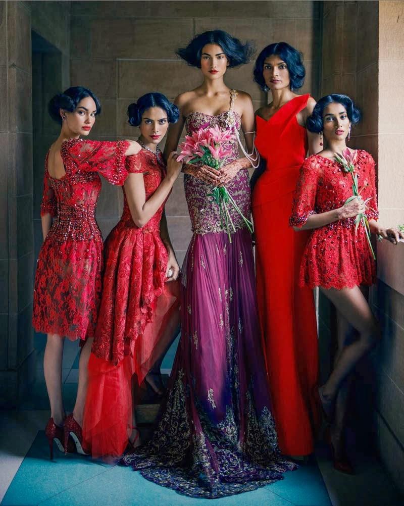 O Casamento Indiano por Vogue