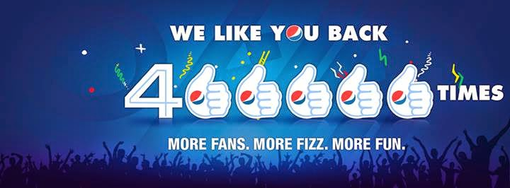 Like Pepsi Nigeria On Facebook
