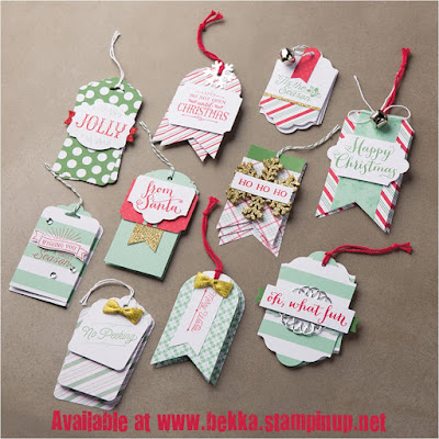 Stampin' Up! UK Oh What Fun Project Kit available here