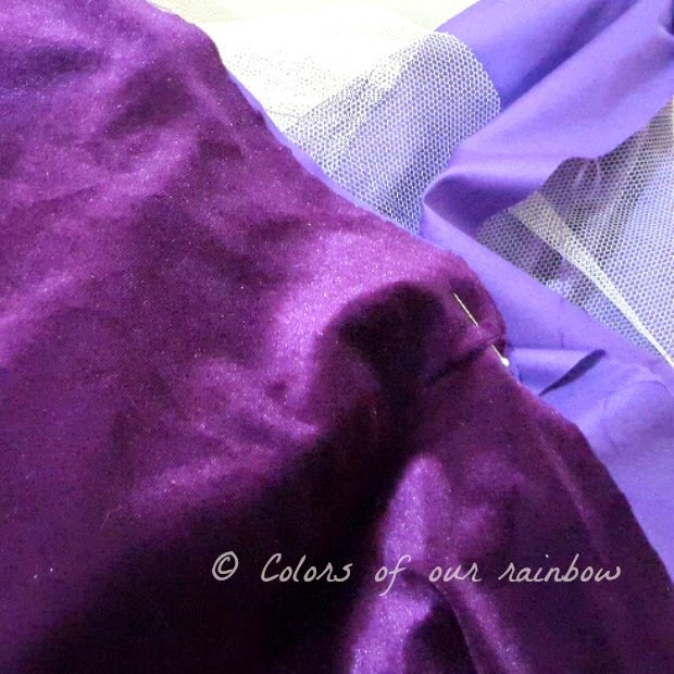 DIY Purple frock 2 @colorsofourrainbow