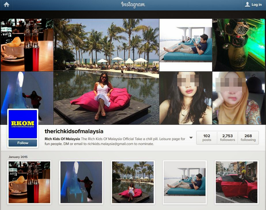 Koleksi foto gaya hidup anak orang kaya Malaysia