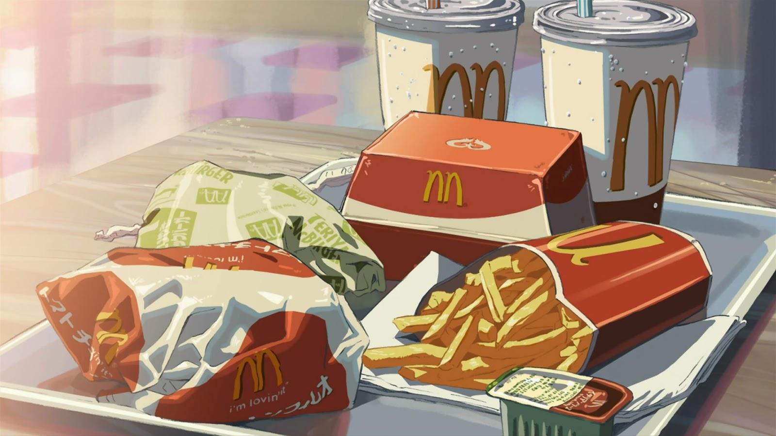 Image Result For Manga Food Wallpapera