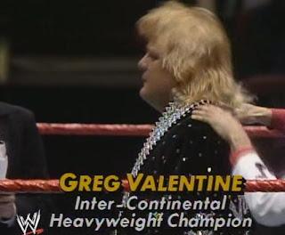 WWF (WWE) WRESTLEMANIA 1: Inter-Continental Champion, Greg 'The Hammer' Valentine