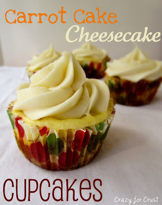Recipe: Carrot cake cheesecake cupakes