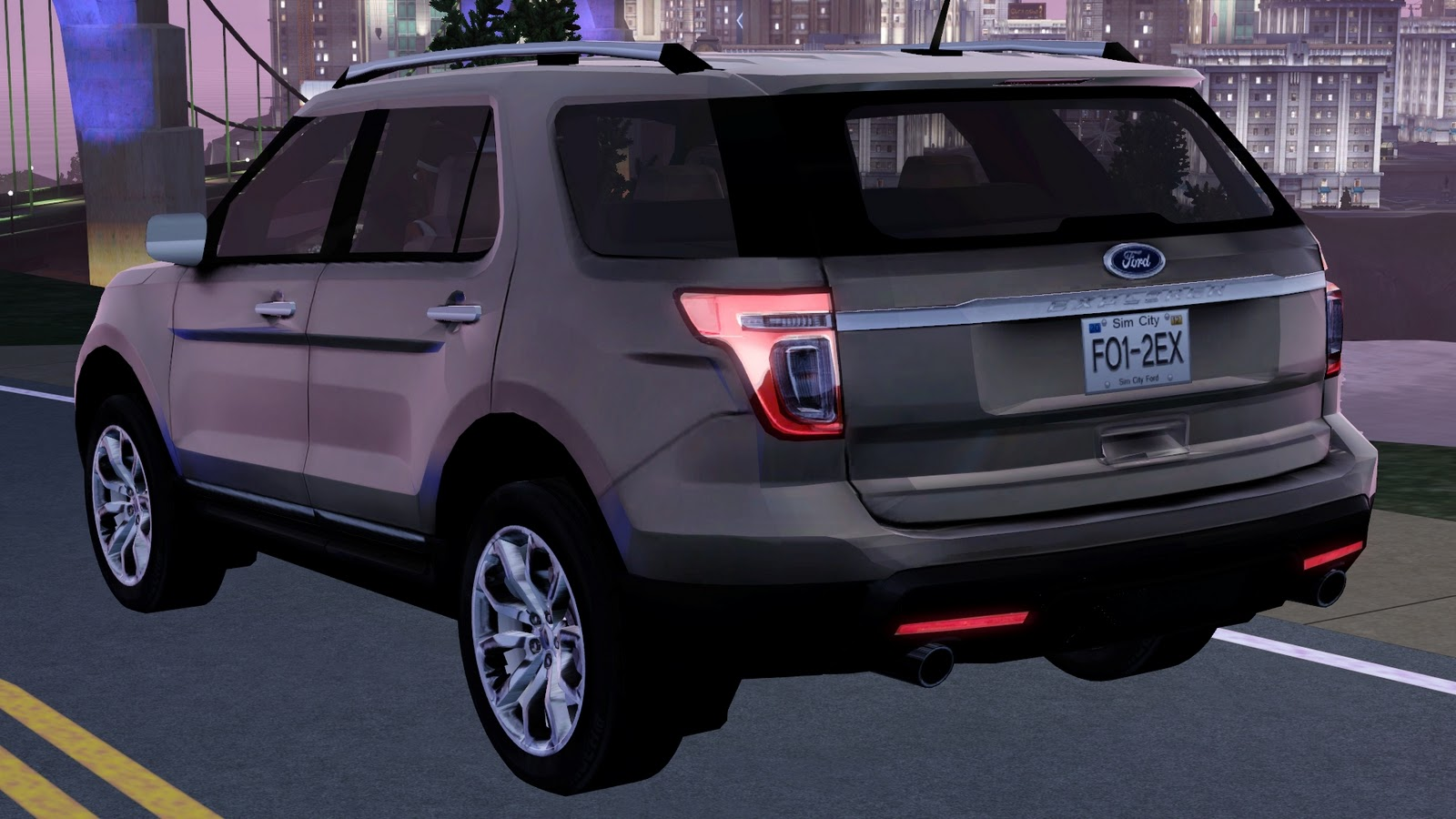 my sims 3 blog 2012 ford explorer by fresh prince. Black Bedroom Furniture Sets. Home Design Ideas