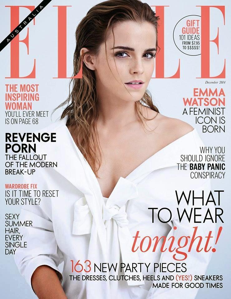 Emma Watson - Elle Magazine, Australia, December 2014