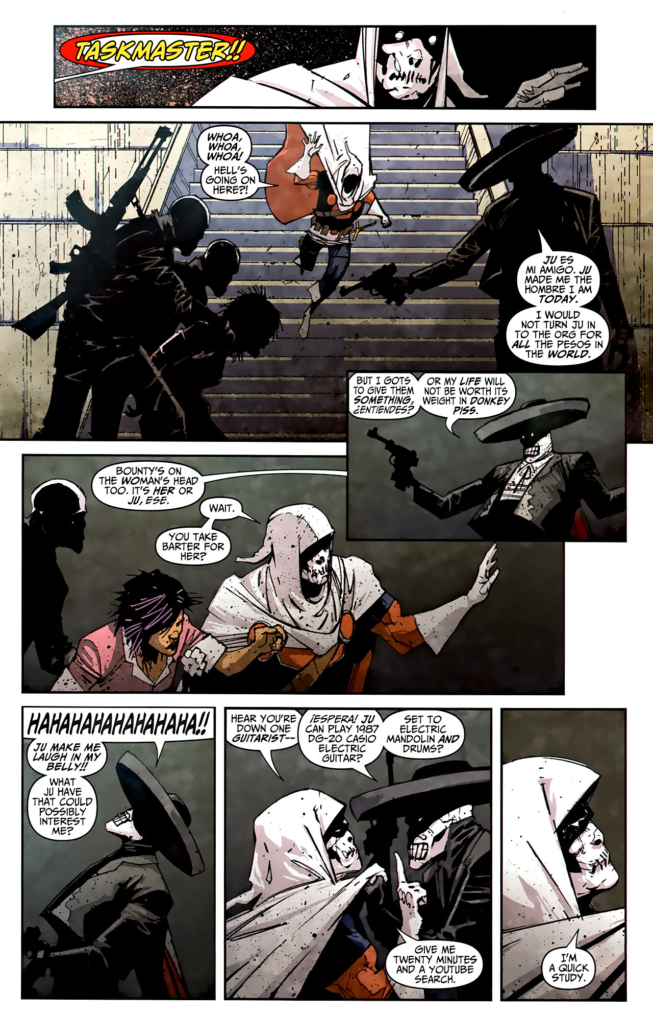 Read online Taskmaster (2010) comic -  Issue #2 - 15