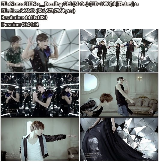 Download PV SHINee - Dazzling Girl (M-On Full HD 1080i)