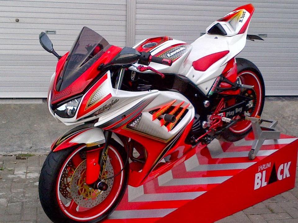 Modifikasi dan Airbrush Kawasaki Ninja 250R