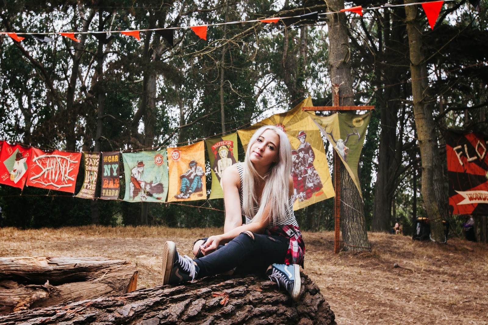 Stone Fox Style in Garage Clothing at Outside Lands Music Festival