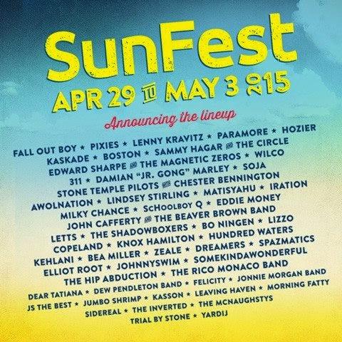 SunFest flyer