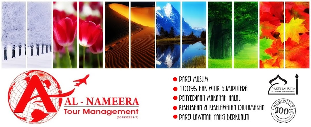 Pakej muslim di Al - Nameera Tour Management
