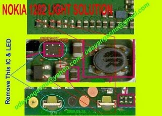 1662 keypad display light problem jumper way solution easy make jumper