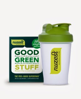 NuZest, good green stuff, healthy, gluten free, dairy free, gmo free, nutrition, supplements, lifestyle, kick start, energy boost, giveaway, product review