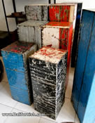 Recycled oil barrel home decors from Bali Indonesia