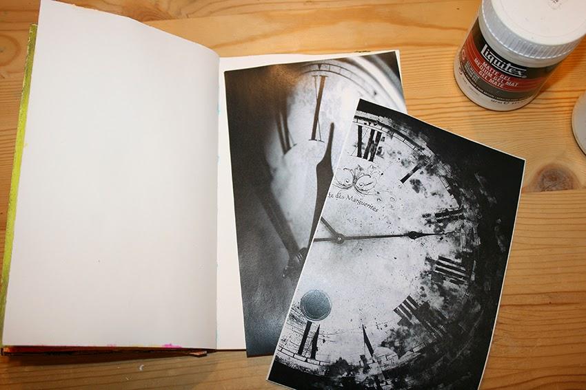 Top Club de art journal de Québec : Art Journal 101 - Le transfert d'image ZG53