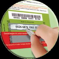 Harga Grosir Voucher Fisik Termurah Chip Sakti Pulsa Payment PPOB Lengkap