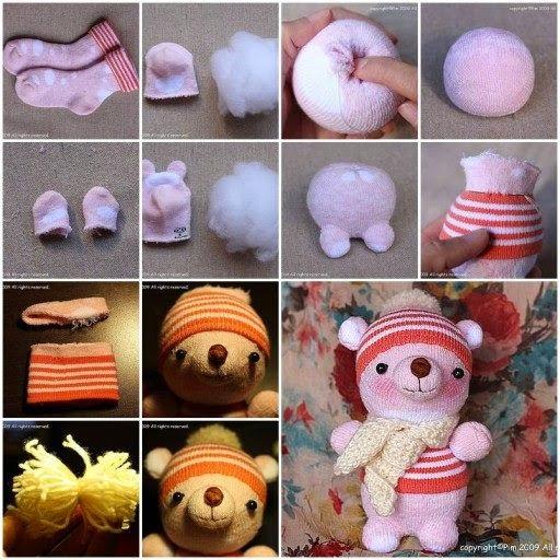 Make Dolls With Socks Diy Tutorial