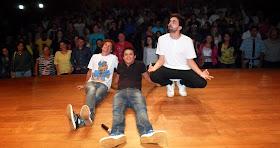 Com Emerson Ceará e Daniel Murillo