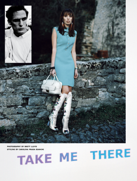 'Take Me There' by Brett Lloyd for Tank Magazine SS14