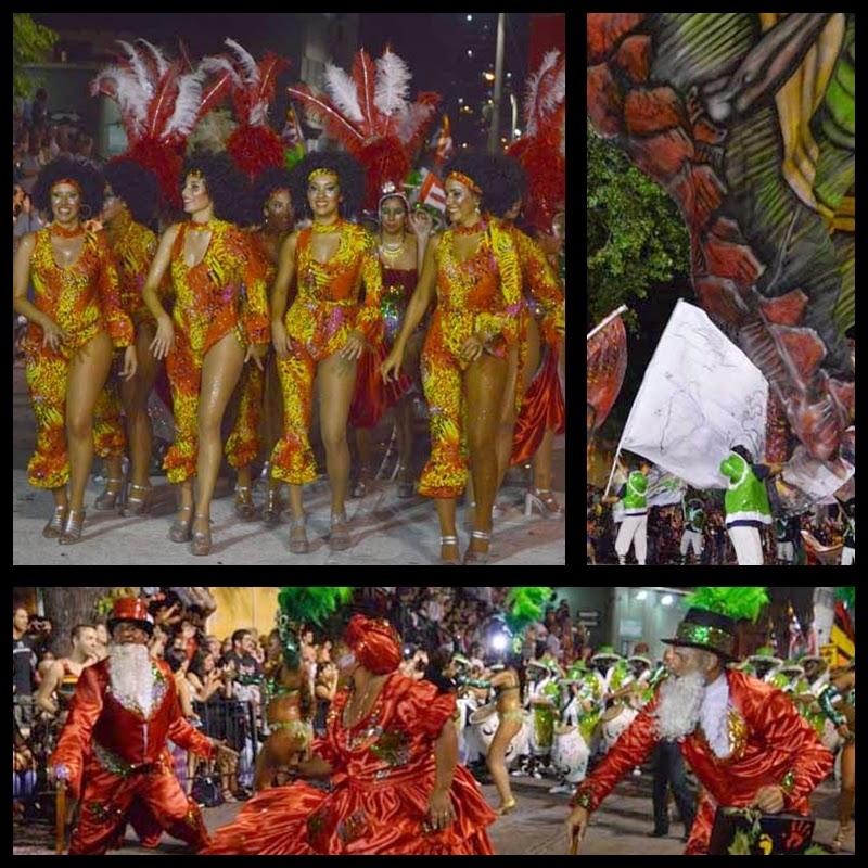 Carnaval. Desfile de Llamadas. Mi Morena.