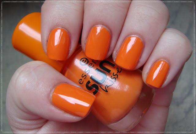 narancasti lak za nokte