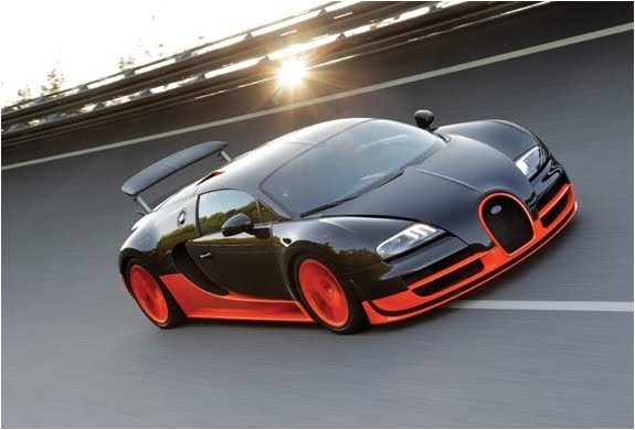 Most expensive sports cars bugatti veyron super sport