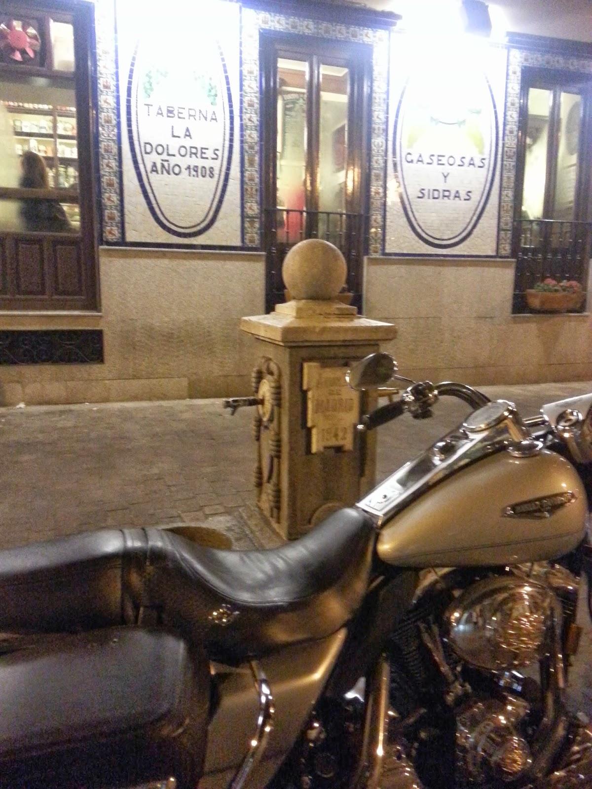 Barrio de las Letras. Madrid. La Dolores.Barrio de las Letras. Inspección Tabernaria