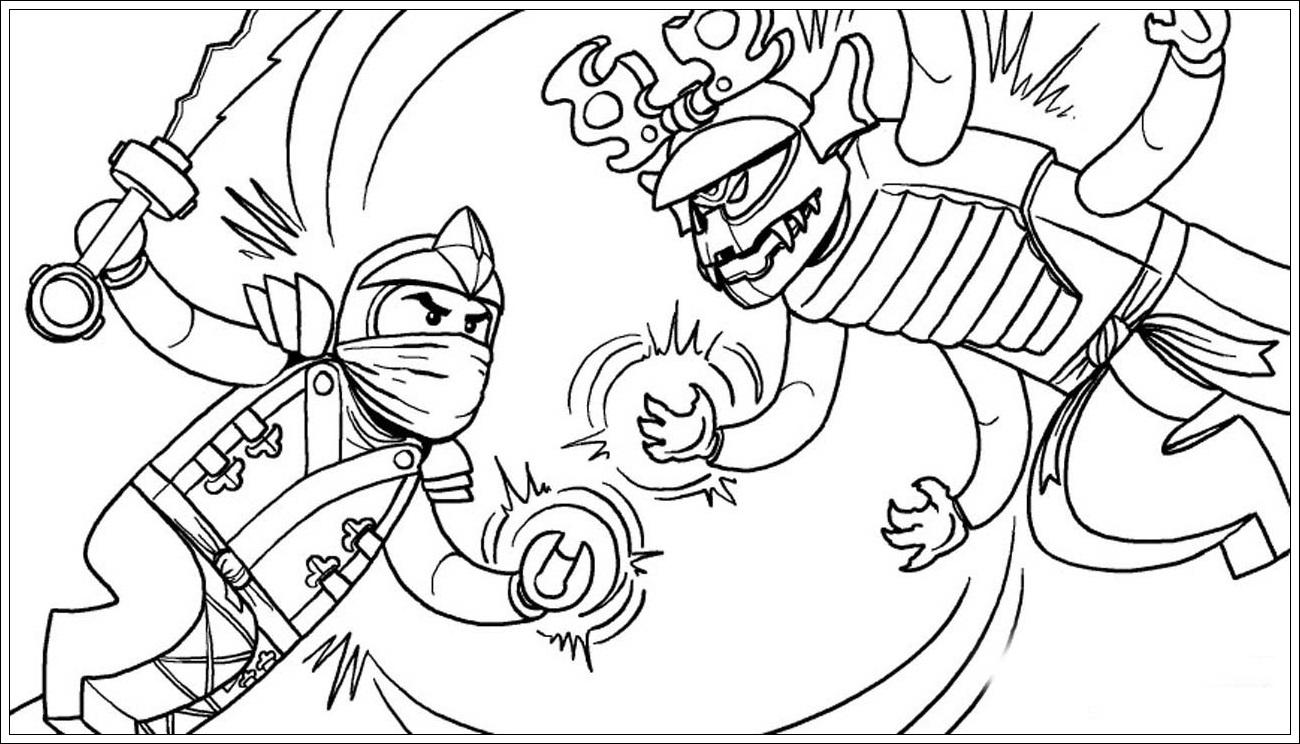 Beste Ausmalbilder Ninjago Zum Ausdrucken Ideen Malvorlagen Von