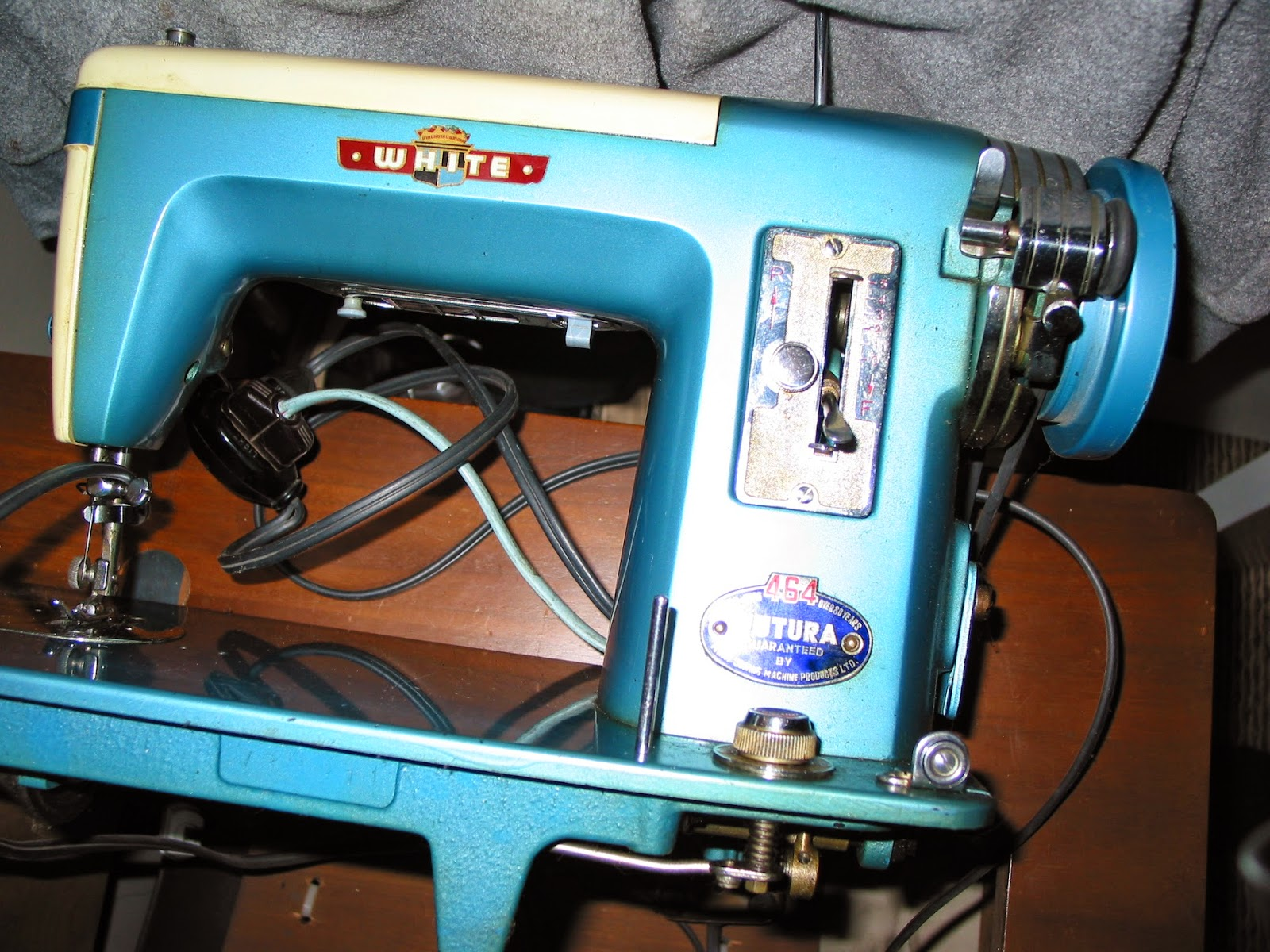 white sewing machine repairs