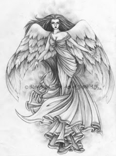 Angel Tattoo Art