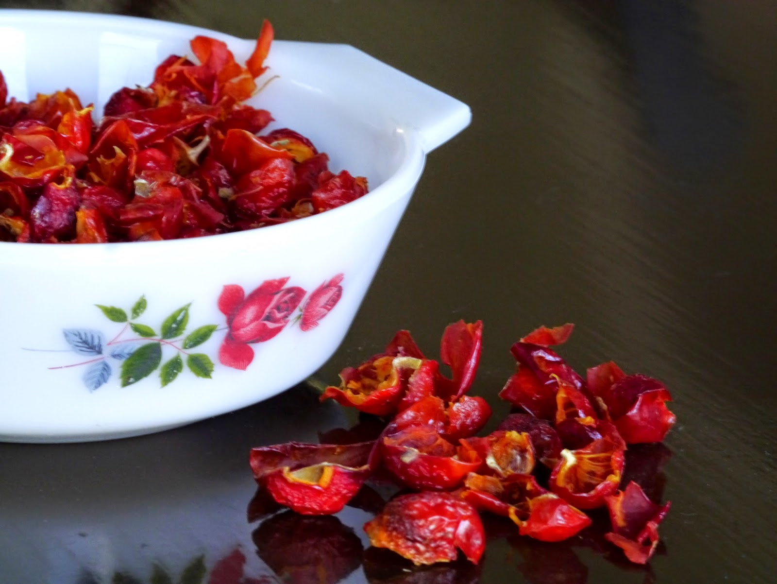 Dehydrated Rose Hips, Rose Hip Recipes