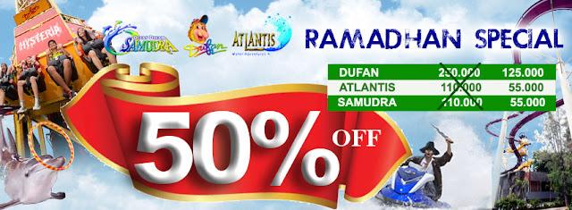 Dufan, Atlantis dan Ocean Dream Samudera Ancol Promo Ramadhan Special