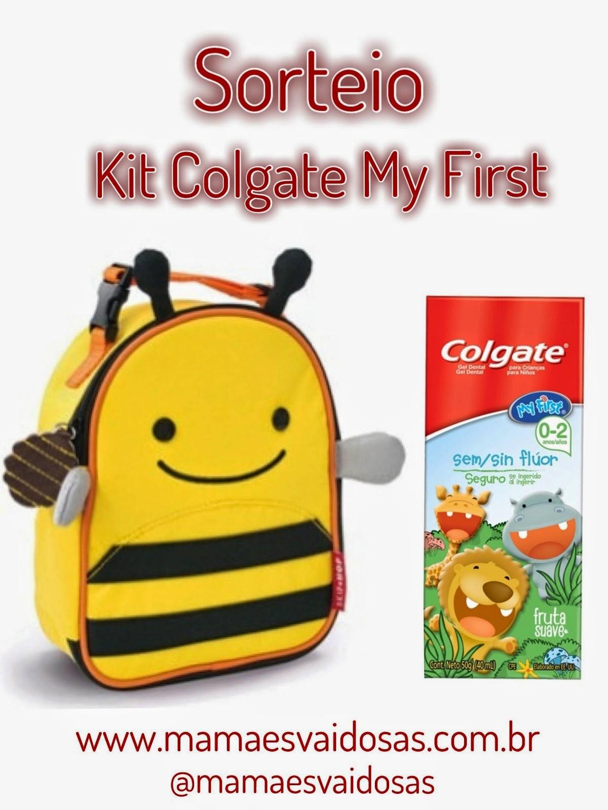 Sorteio Kit Colgate My First
