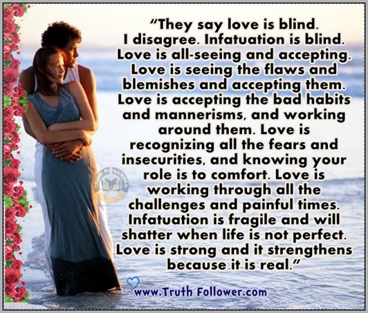 Love Is Blind Quotes Fascinating They Say Love Is Blind I Disagree