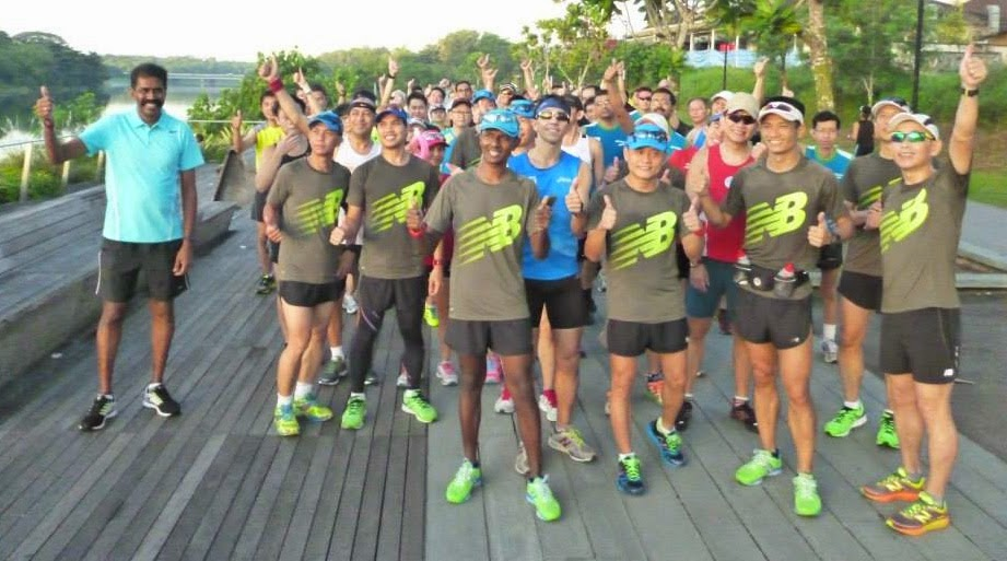 Straits Times Run @ Hub 2014: Training Run #2