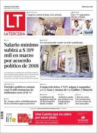 15/02/2020 PRIMERA PÁGINA DE LA TERCERA   DE CHILE
