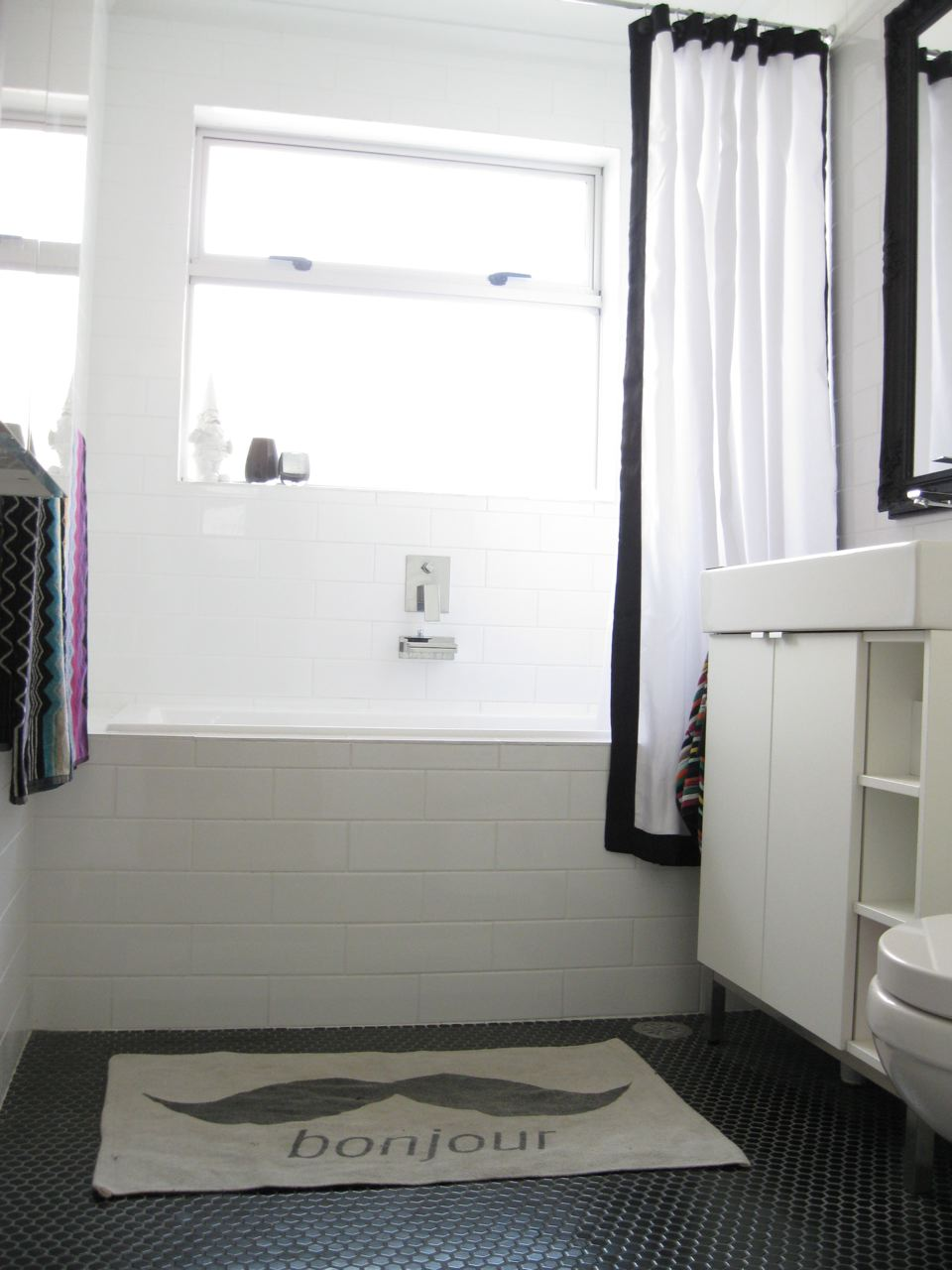 Before & After: The Main Bathroom